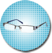 Semi Rimless Glasses